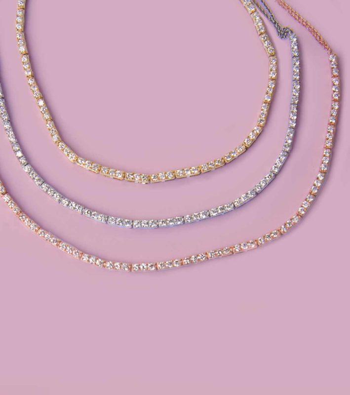 Diamond Tennis Necklace